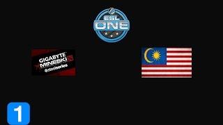 Highlights Gigabyte.Mineski vs TeamMalaysia - ESL One Frankfurt 2015