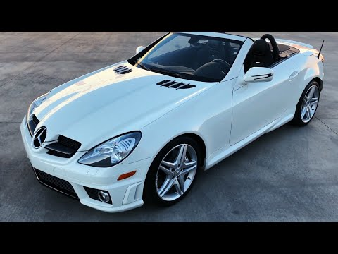 2009 Mercedes-Benz SLK-Class SLK 55 AMG Roadster Convertible - Walkaround