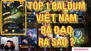 Khi Gặp Top 1 Baldum Việt Nam Leo Rank Cao Thủ Bá Đạo Ra Sao ?