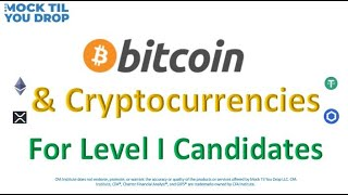 Understanding Bitcoin and Cryptocurrencies: For Level I Candidates