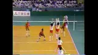 NHK CUP Women Volleyball 1987