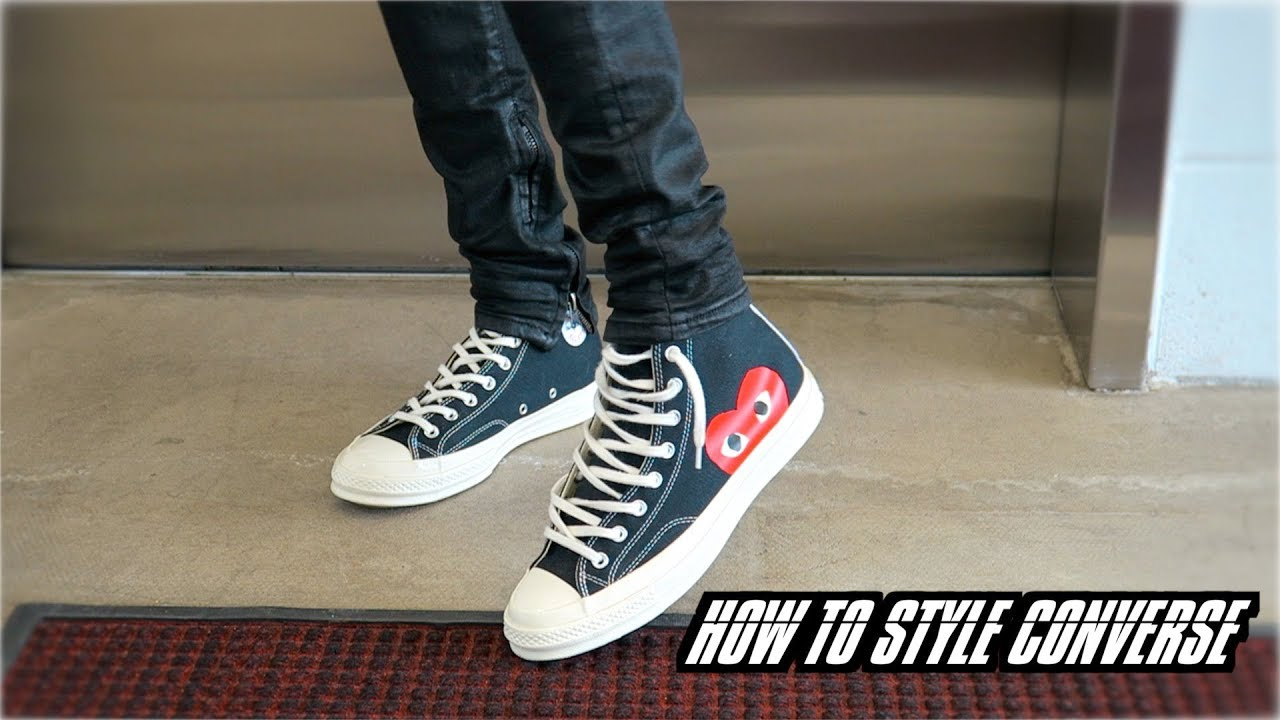 How to Style Converse | Review + On Foot (Chuck Taylor x CDG)