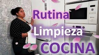 COMO HACER LIMPIEZA DE COCINA RUTINA TRUCO FACIL