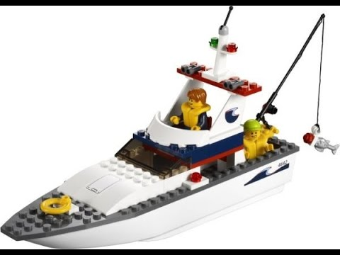 lego city barco de pesca juguetes para ni os youtube. Black Bedroom Furniture Sets. Home Design Ideas