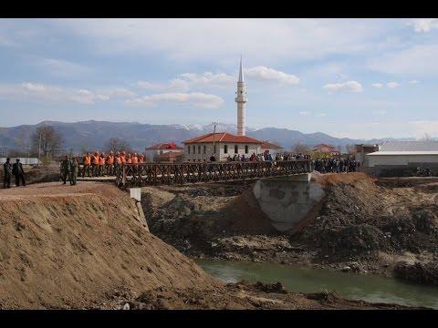 FA ndërtojnë urë në Orman të Maliqit