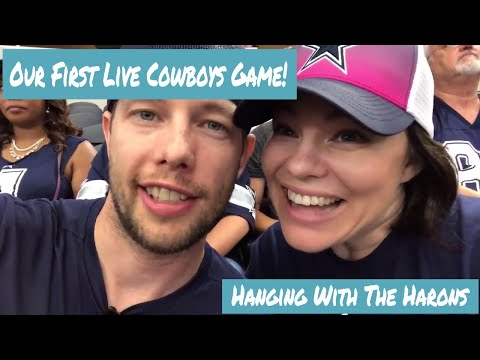 Our First Cowboys Game at AT&T Stadium (And Cheap Parking!!)