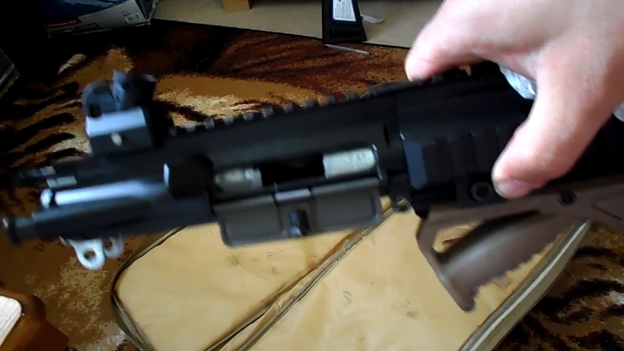 HK416D 22lr takedown and clean