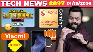 PUBG Mobile India BAD News,Snapdragon 888 Is Here,Xiaomi In Trouble,New Micromax Phone Teased#TTN897