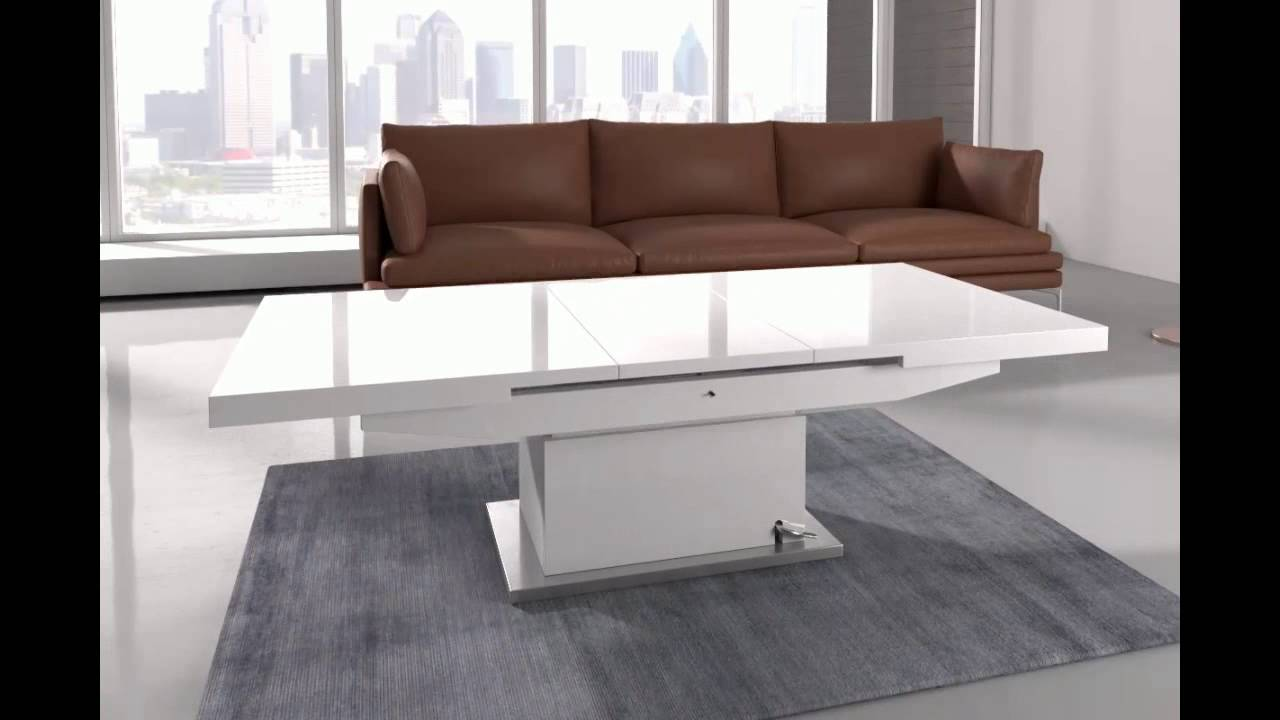 Elgin Coffee Table That Also Converts To A Dining In W Youtube