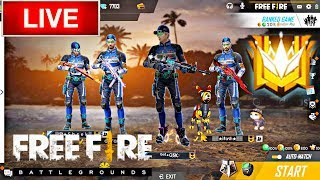 Free Fire New Update Live SQUAD GOING TO GRANDMAST #GSK