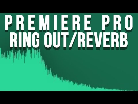 Premiere Pro Tutorial | How to make Audio Ring Out (Reverb)