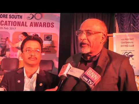 Rotary Bangalore South   Rashi Dinesh Verma Life Time Achievement Architect Award for the Year 2016