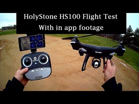 HolyStone HS100 Flight Test