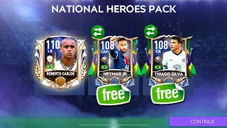 HOW TO GET FŔEE NEYMAR & 1x 108+ FROM NATIONAL HEROES IN FIFA MOBILE 21 | FIFA MOBILE 21