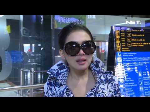 Entertainment News - Syahrini berangkat ke Singapura untuk konser Mp3