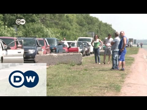 Life in rebel-held Donetsk | DW News
