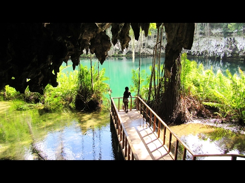 Amazed by Los Tres Ojos, thrilled by Santo Domingo the Dominican Republic
