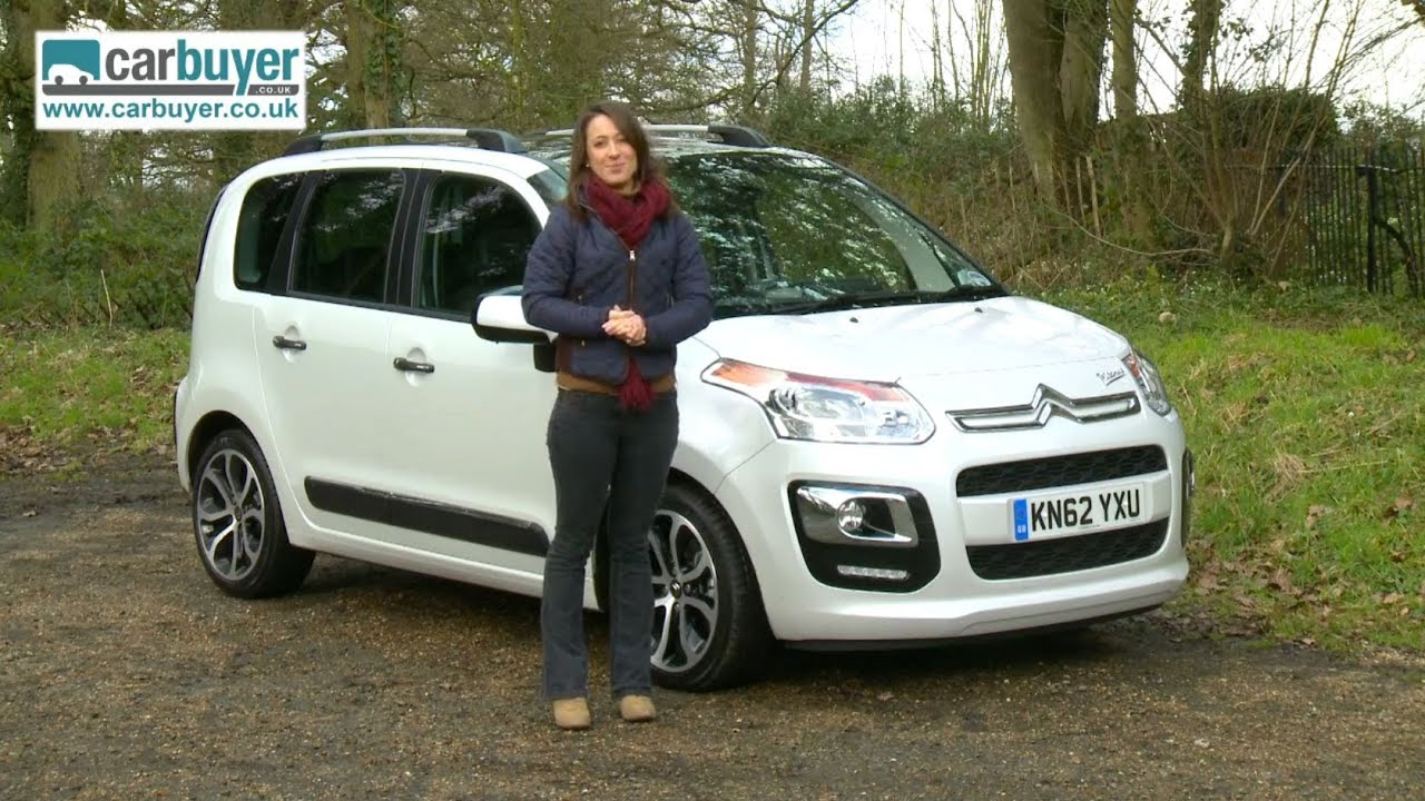 citroen c3 picasso mpv 2013 review carbuyer youtube. Black Bedroom Furniture Sets. Home Design Ideas