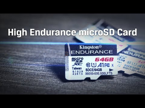 High Endurance MicroSD Card For Dash Cams, Security Cameras – Kingston Technology