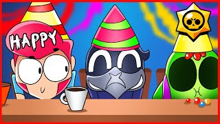 BRAWL STARS ANIMATION - HAPPY BIRTHDAY CROW !!!