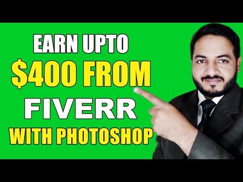 Adobe Photoshop Cs6 Complete Course In Urdu Hindi | CLASS-5 | 5 BEST TOOLS FOR FIVERR EARNING