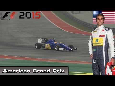 F1 2015 - Championship Mode - Round 16: American Grand Prix