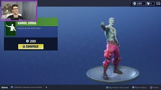 *NEW GESTURE COME COME + NEW LEGENDARY SKIN FORGET* SHOP FORTNITE 09/07/18