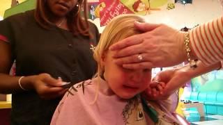Chelsea's first haircut
