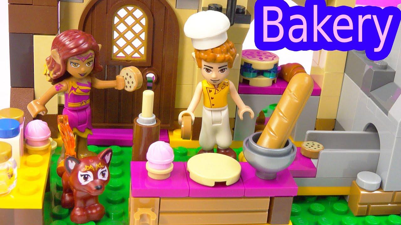 Fantasy Lego Elves Azari And The Magical Bakery Playset