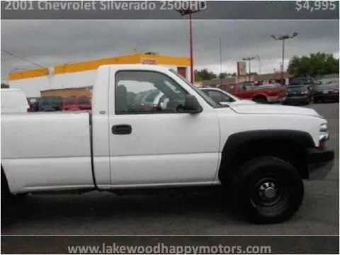 2001 chevrolet silverado 2500hd used cars lakewood co