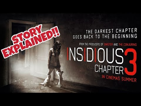 Insidious Chapter 3 (2015) Story Explained - What Really Happened | Insidious 3 Movie Review