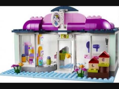 Baukästen & Konstruktion LEGO Bau- & Konstruktionsspielzeug 41007 Lego Friends Heartlake Tiersalon Neu