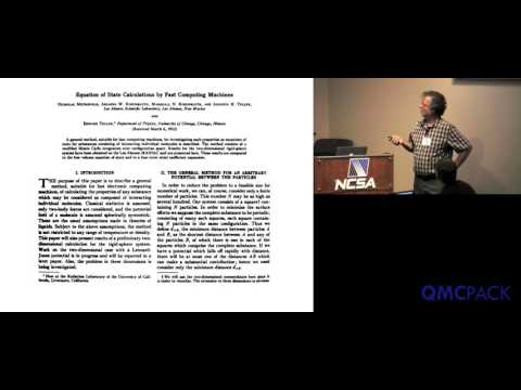 02 - David Ceperley - Introduction to Stochastic Methods