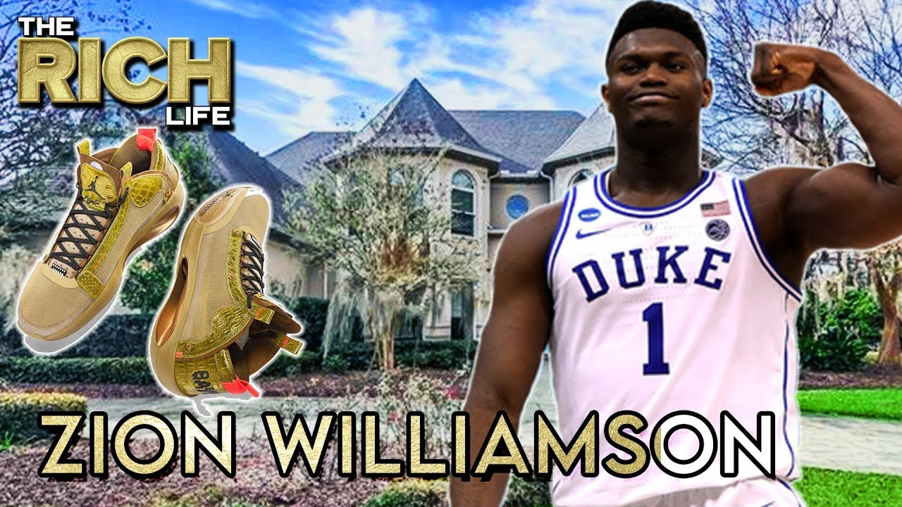 Zion Willamson $75,000,000 Shoe Deal...