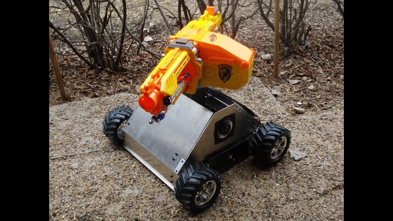 RC Nerf Tank: 22 Steps (with Pictures)