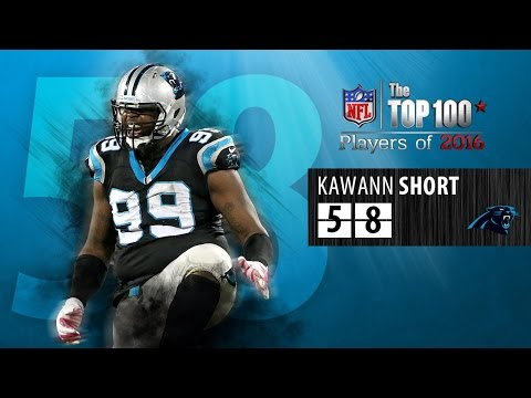 #58: Kawaan Short (DT, Panthers) | Top 100 NFL Players of 2016