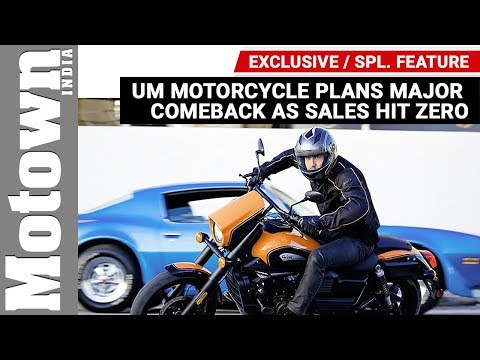 UM Motorcycle on a major comeback in India | Exclusive | Motown India
