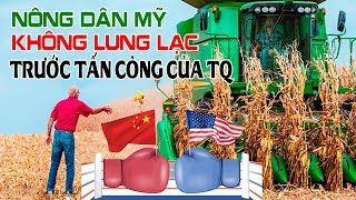 Thương chiến Mỹ Trung: Nông dân Mỹ không bị lung lạc trước tấn-công của Trung Quốc!