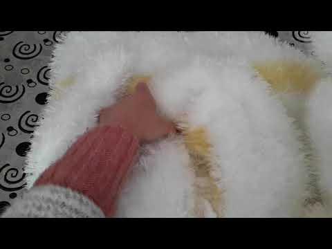 Часть  - 2 Вязание из травки шубка.От 4 - 7 лет.
