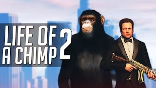 "GTA 5 Mods: ""Life of a Chimp"" - Part 2 - (GTA V Movie)"