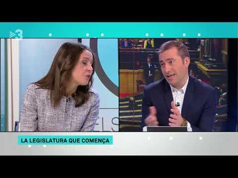 Inés Arrimadas: 'Tothom sap que una persona que està fugida de la justícia no pot...'