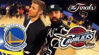 WARRIORS, CAVS und BULLS   NBA Finals Trip Teil 1