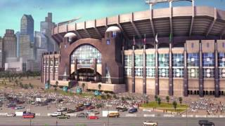 Madden NFL 09 Presentation Stadium History Carolina Panthers Bank of America Stadium