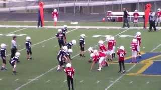 2014 Ozark Football Association Patriots lose 0-12 to Razorbacks on 10/11/14. #4-2