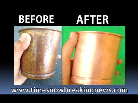 how to clean brass at home | how to clean copper vessels at home | TimesNow BreakingNews