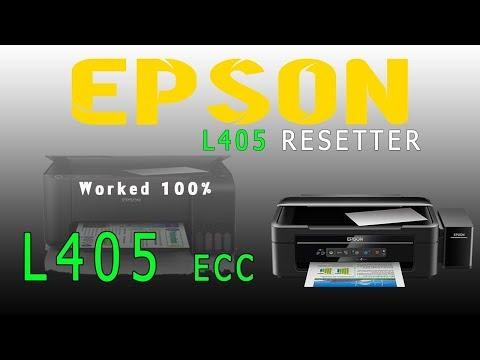 Epson L405 resetter adjustment program free downlaod working