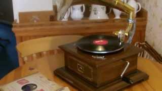 HMV Style Brass Horn Gramophone No 1