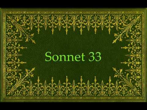 shakespeare sonnet 33
