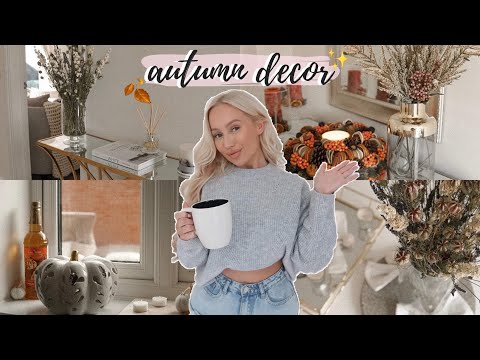 Decorate With Me for AUTUMN 2019! Fall Decor | Elle Darby