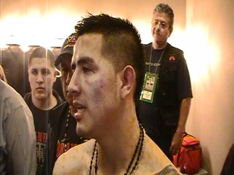POST INTERVIEW WITH BRANDON RIOS AFTER KNOCKOUT WIN OVER MIGUEL ACOSTA